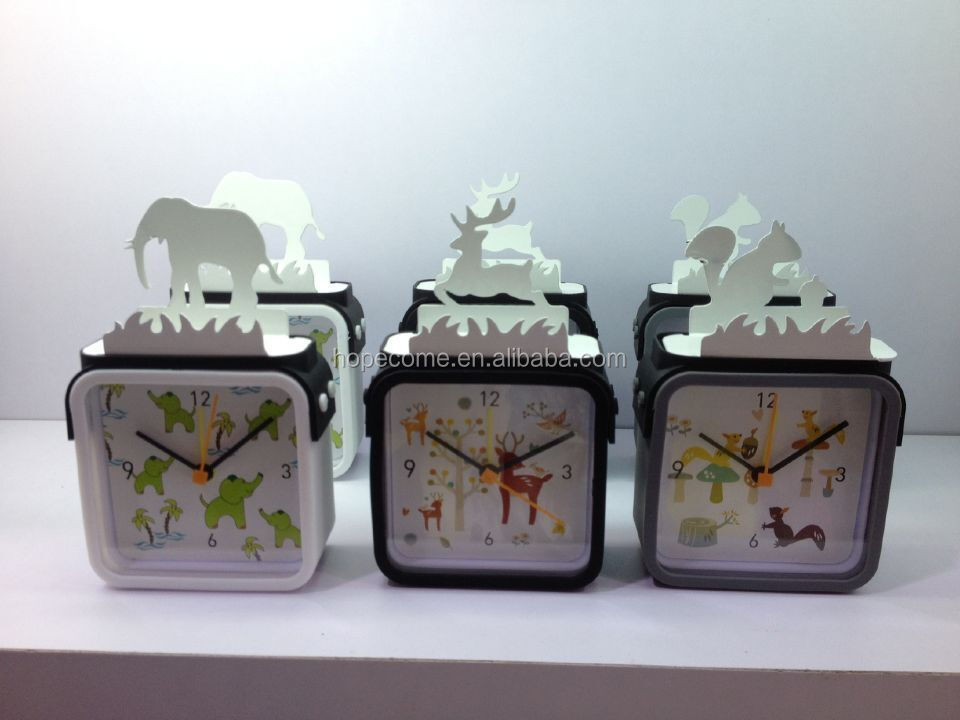 Slicone Timepieces Modern Promotion To Cheap Azan Table Clocks For Kids