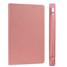 Hotting High-grade Premium PU Leather Flip Wallet case tablet Case for ipad 2/3/4 with pen case
