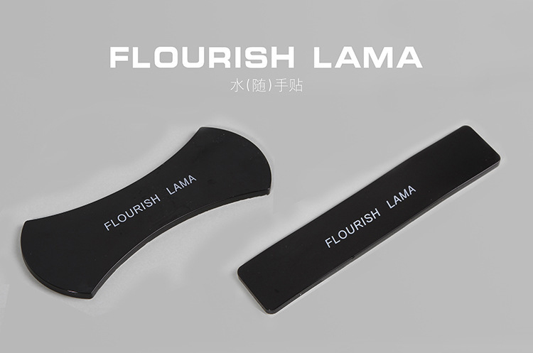 2017 newest Nano rubber 360 degree Flourish Lama wall sticker Washable Repeatedly Car Holder Gel Pads