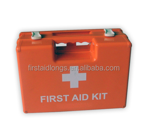ABS / PP First Aid Kit , Wall mounted Medical Kit , Multipurpose Durable Plastic First Aid Kit