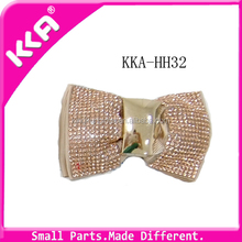 Removable Bow Crystal Rhinestone Shoe Clip Decoration Accessories
