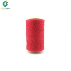 open end 100% india 10s red cotton yarn china