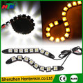 2pcs White 8 LED Long Strip Daytime Running Light DRL Car Fog Day Driving Lamp