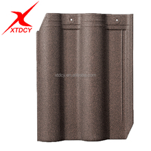 Full Body Flat Clay Roof Tiles Porcelain Roof Tiles For Sale