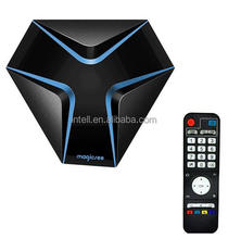 Magicsee Iron android 7.1 tv box, kodi 17.3 smart tv box, amlogic s905x quad core 4k media player