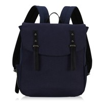 Unisex college bag leisure backpack trendy canvas backpack