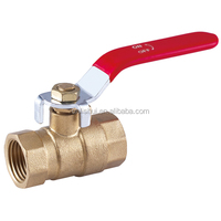 Lever Handle Forged Blow-out Proof Brass Ball Valve