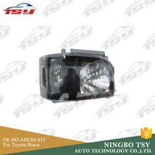 Car PC+PP Head Light Headlamp For Toyota Hiace 2005-up