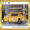 Cement stucco auto machine for internal wall plastering machine manufacturing industries