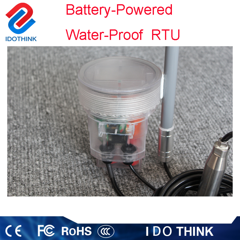 Best price of oil and gas rtu Battery powered water proof RTU