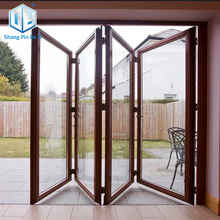 Aluminum bi-folding door in top quality