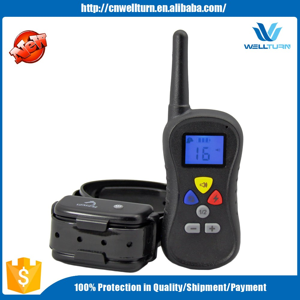 Good Pet Dog Electric Training Collar Remote Pet Dog Training Collar Shock Control Waterproof Trainer Vibration Collar