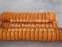 CE certificate and high quality ,waterproof PVC spiral weld fume air duct hose