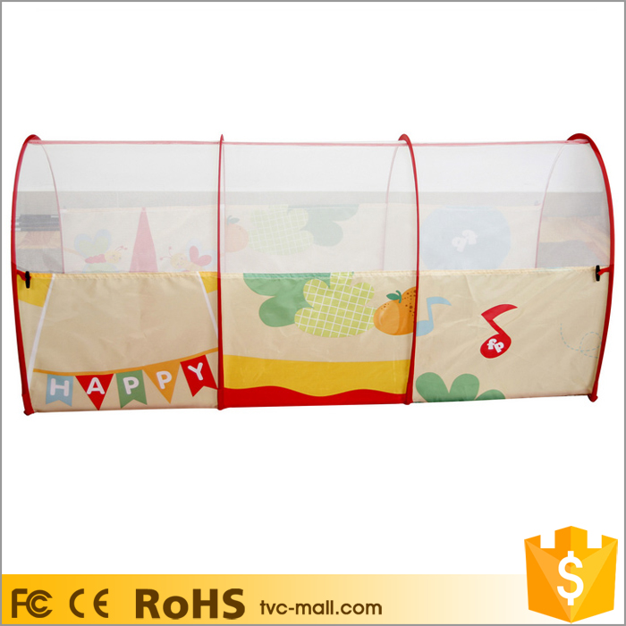 Arched Play Tunnel Toy Tent Child Kids Discovery Tube