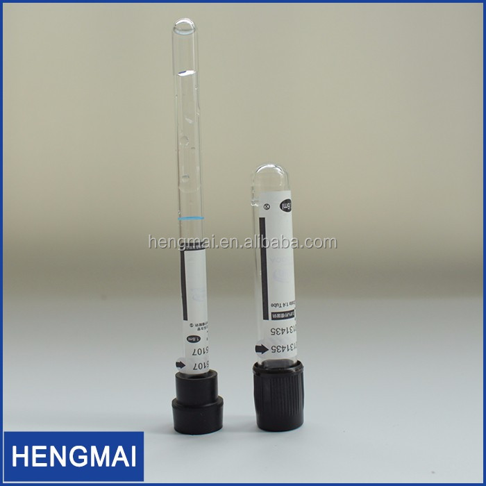 Medical Devices Vacutainer Vacuum Blood Test Collection Tube 10ml