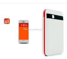 8000mAh power bank charger with RoHS and CE certificate,newest style in 2015 cool style KD-135
