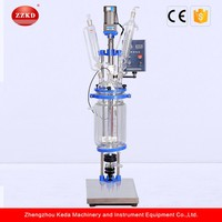 S-5L 5L Glass Lined Continuous Stirred Tank Reactor