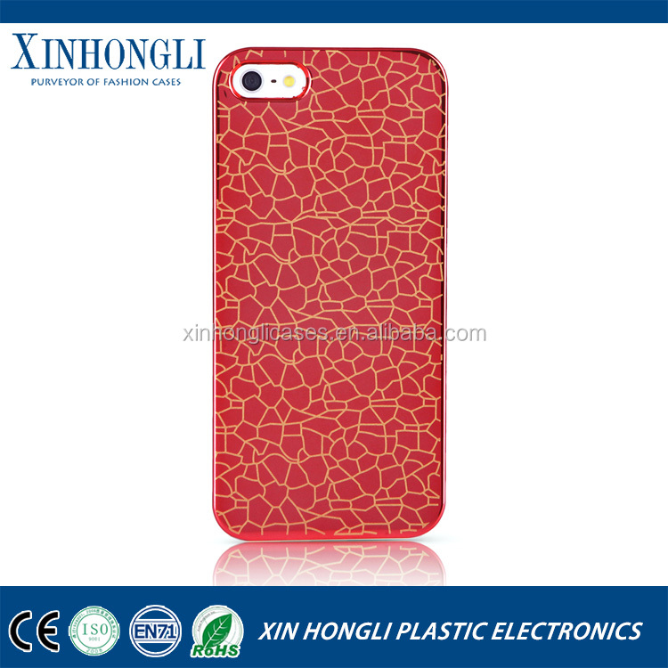 Top Quality Electroplate Laser Carving Hard Case For iPhone 6