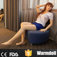 158cm Full Silicone Hairy Vagina Sex Doll Lifelike Real Love Doll For Man Masturbation Tools