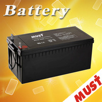 High quality 12V 200Ah agm battery for UPS