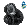 China factory direct high quality colorful round aluminum flexible duct PVC air duct