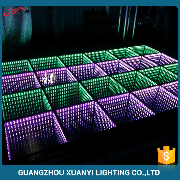 Disco Light Dmx 512 3D Glass Acrylic Dance Floor