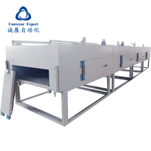 Large infrared conveyor belt vacuum dryer for sale/ conveyor dryer/tunnel drying