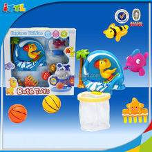New summer toy for 2014 kids mirror bath basketball bath toy play set