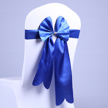 Factory price and fashion chair sash for weddings