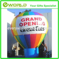 customized advertising inflatables cheap hot air balloon