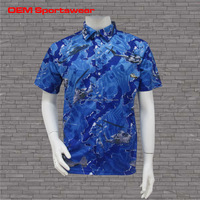 New style custom mens polo shirts full button down polo