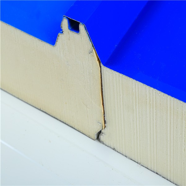 High density rigid insulation pu polyurethane foam sandwich decorative wall / celling / roof panel from