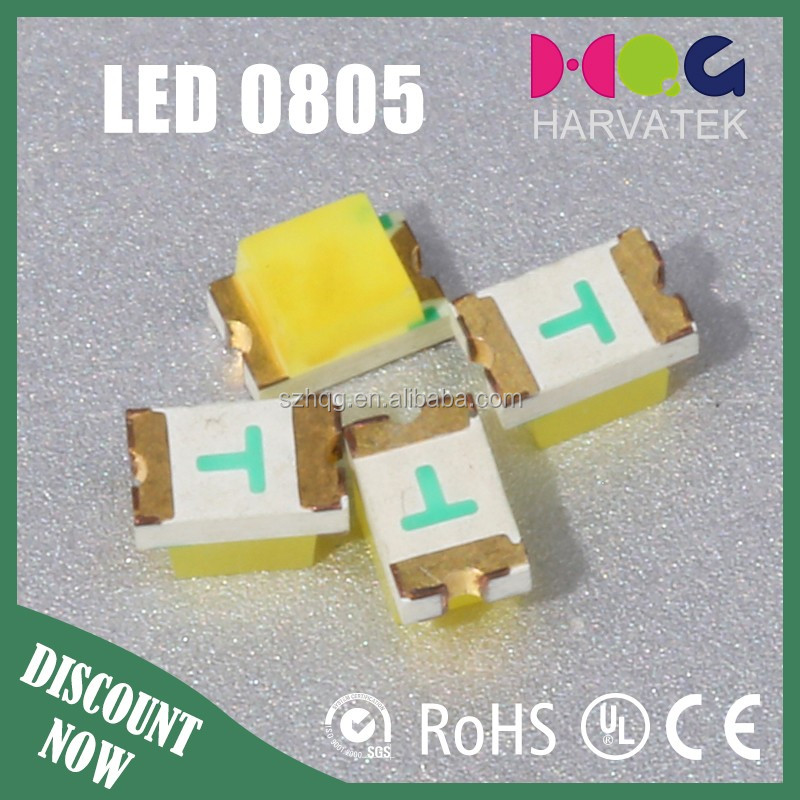 0805 Top view led chip smd White LED manufacture