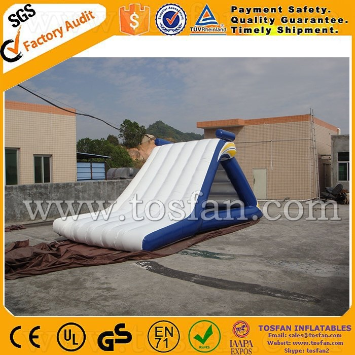 2016 inflatable water tower inflatable floating slide A9013B