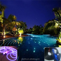 fiber optic lighting kit for swimming pool or ceiling