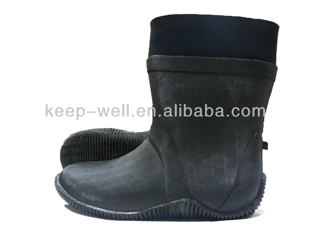 Neoprene Rubber Diving Boots (BS-098)