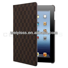Brown 360 Rotating Smart Leather Stand Cover For ipad 4 4th