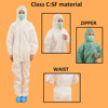 Hot Sale Disposable Safety Fire Retardant Coverall