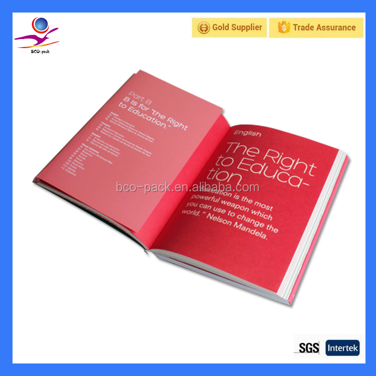 High Quality Company Catalogue Printing full color