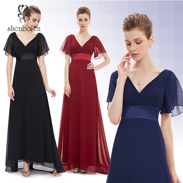 OEM Wholesale Fashion Sexy Women Ever Pretty Bridesmaid Evening Long Party Formal Prom Maxi Dress