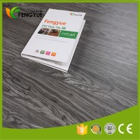 waterproof click system vinyl sheet pvc plastic floor covering