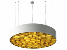 Bee Nest Shape Pendant Wood Chandelier Decorative for Restaurants Project Suspension Lamp