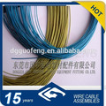 Manufacture Pontone Color PVC / PE / PU Coated Stainless steel Cable