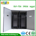 CE approved setting 25000 quail eggs popular commercial poultry incubator