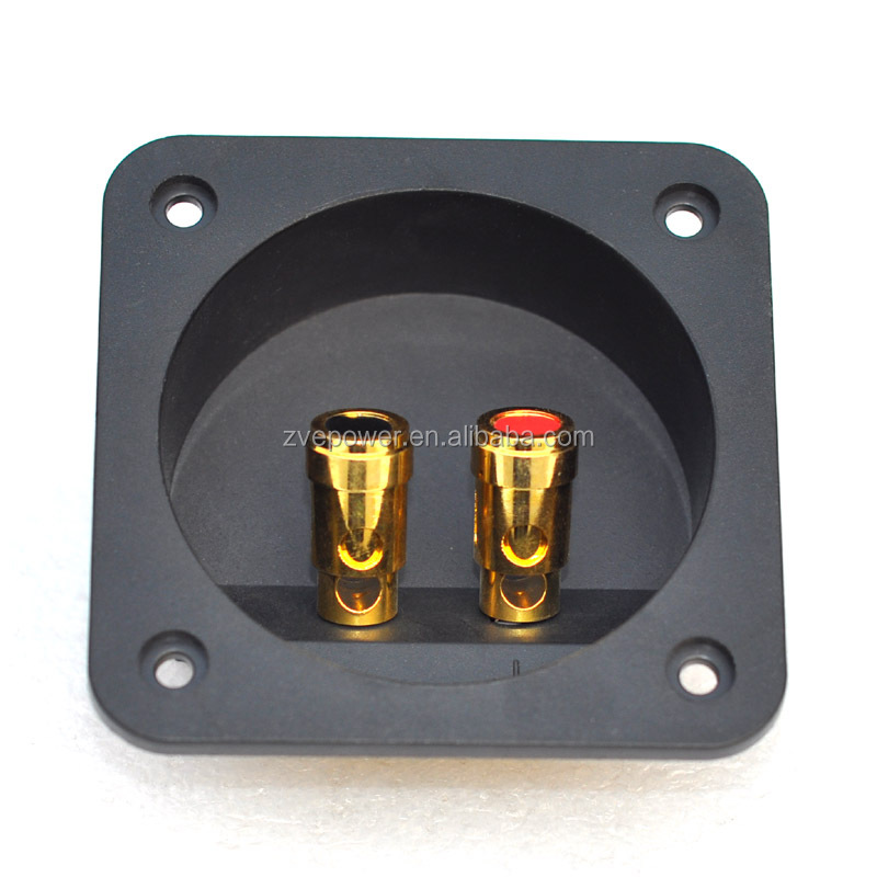 68mm 204A Speaker junction box / speaker wire box terminals are pressed with pure copper pillars