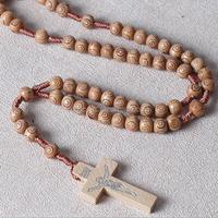 Rebaccas olive wood prayer rosary