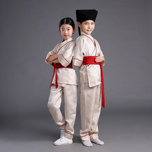 China manufacturer new style 2017 Kongfu costume for kids