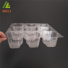 Factory custom clear new design plastic cake box cover
