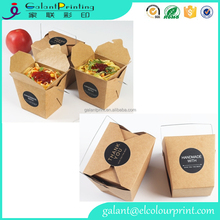 Chinese Take Out Boxes for Party Favor and Food Pail with custom logo printing