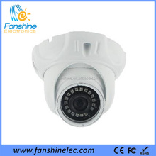 Fanshine Indoor Plastic Dome CCTV Camera System With IR-CUT